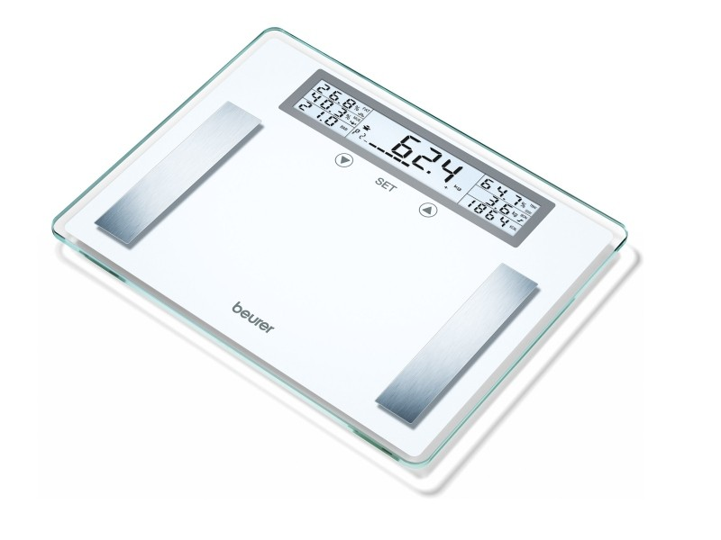 Skleněná diagnostická váha Beurer BG 51 XXL (S měřením tuku, vody, svalové hmoty a kostí)