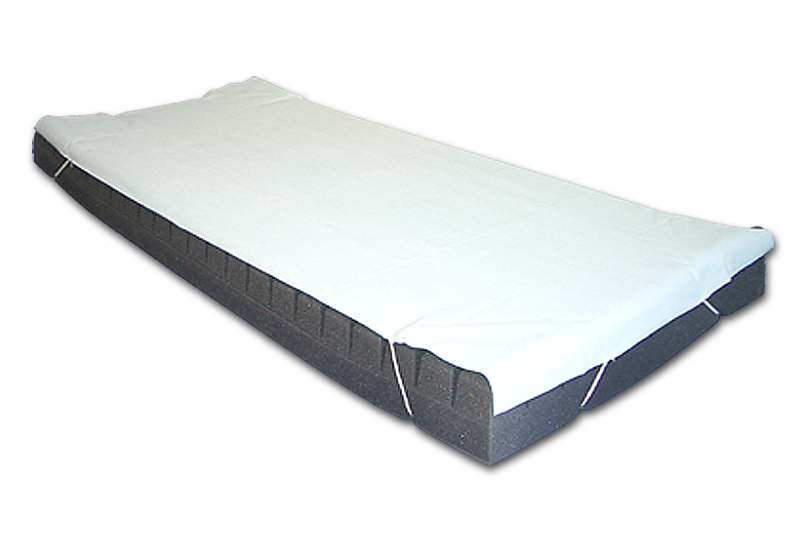 Prostěradlo nepropustné PNSK s gumičkami froté/PVC, 90 x 200 cm Halcamp