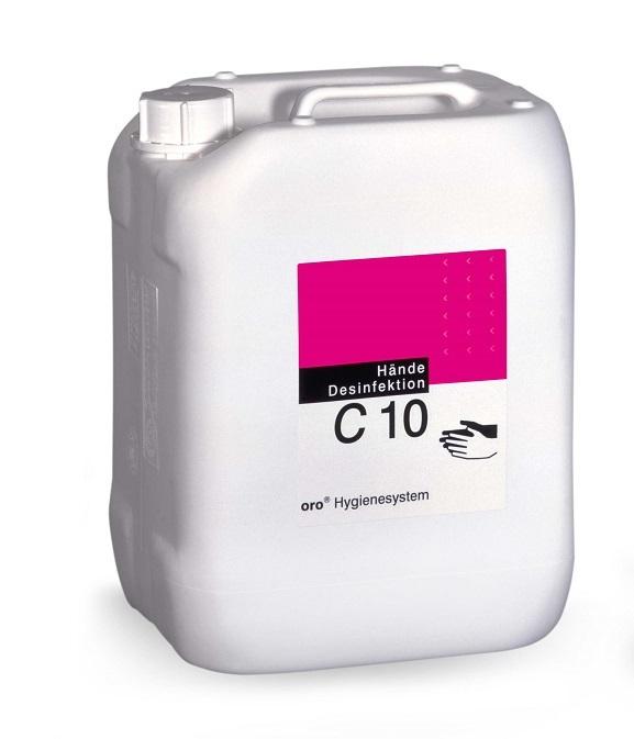 Orochemie C10, 10 litrů dezinfekce na ruce