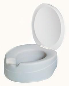 Nástavec na WC 11 cm Contact plus, s poklopem vyměkčený