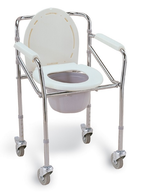 Toaletní křeslo pojízdné FS 696