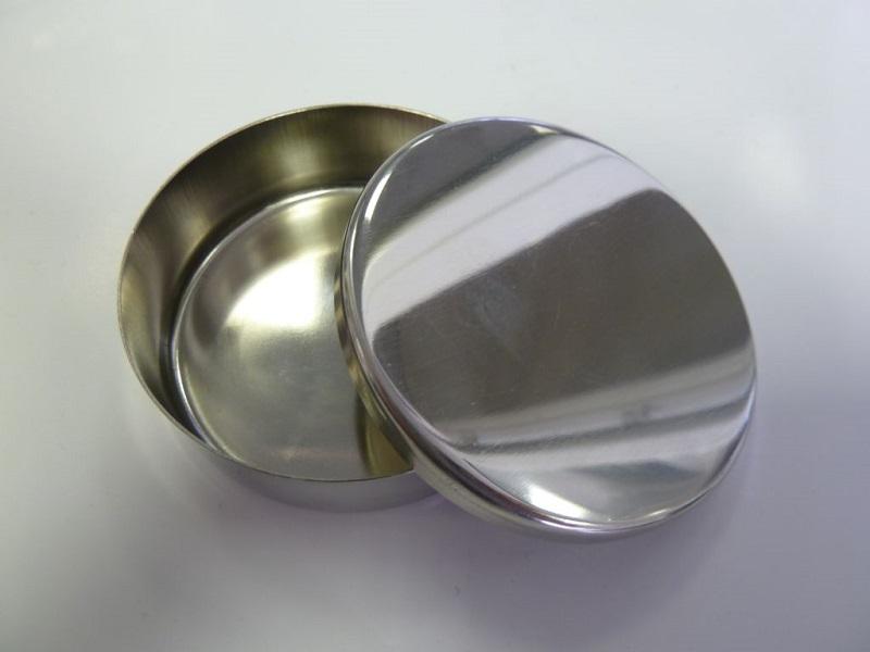 Petriho miska nerezová 7,1 cm