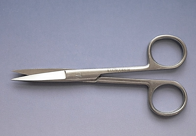 Nůžky chirurgické hrotnaté rovné 115 mm