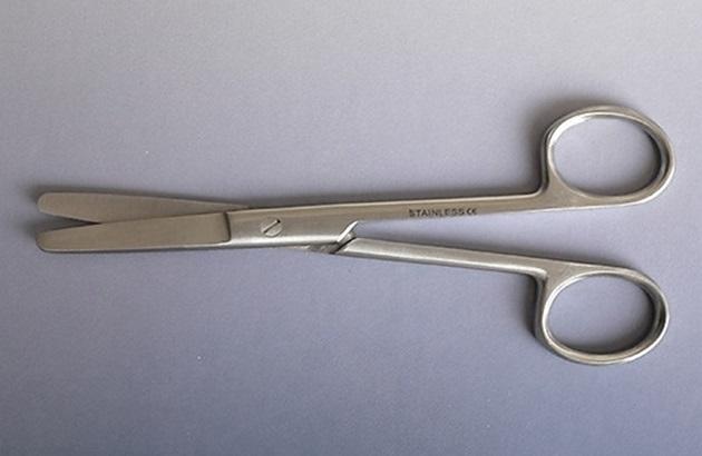 Nůžky chirurgické tupé 13 cm