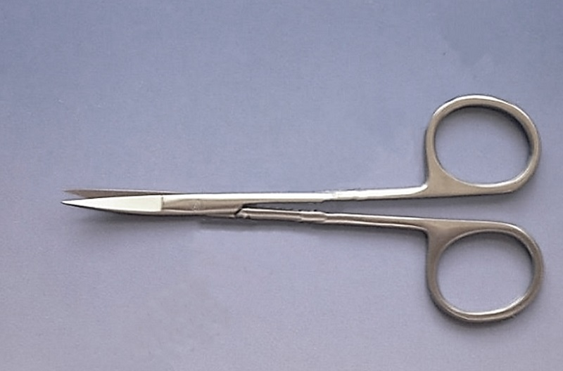 Nůžky chirurgické oční, rovné 11,5 cm