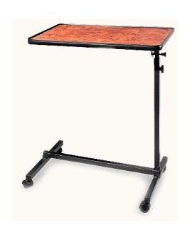 Stolek k lůžku Easy - imitace dřevo buk (Servírovací, polohovací, pojízdný stoleček k posteli)