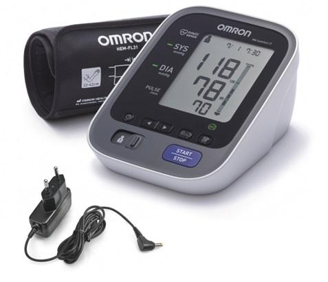 Tlakoměr OMRON M6 Comfort IT s USB připojením + zdroj