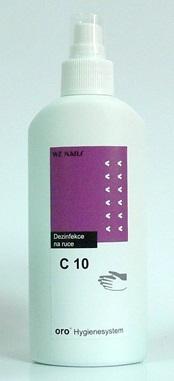 Orochemie C10, 200 ml dezinfekce na ruce ve spreji