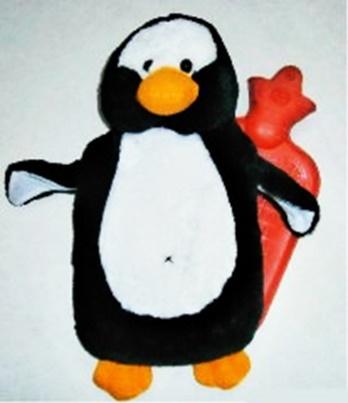 Fotografie Termofor dětský tučňák 0,7 l Sanity