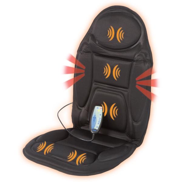 Masážní podložka Back Massager Lanaform (Masážní podložka do auta i kanceláře)