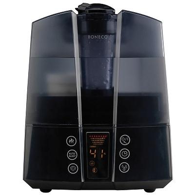 Boneco U7147 Zvlhčovač vzduchu s předehřevem vody černý