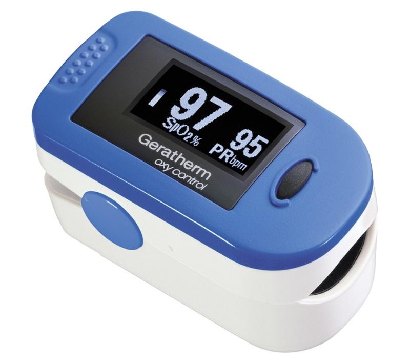 Geratherm Oxy control pulsní oxymetr (Prstový pulsní oxymetr)