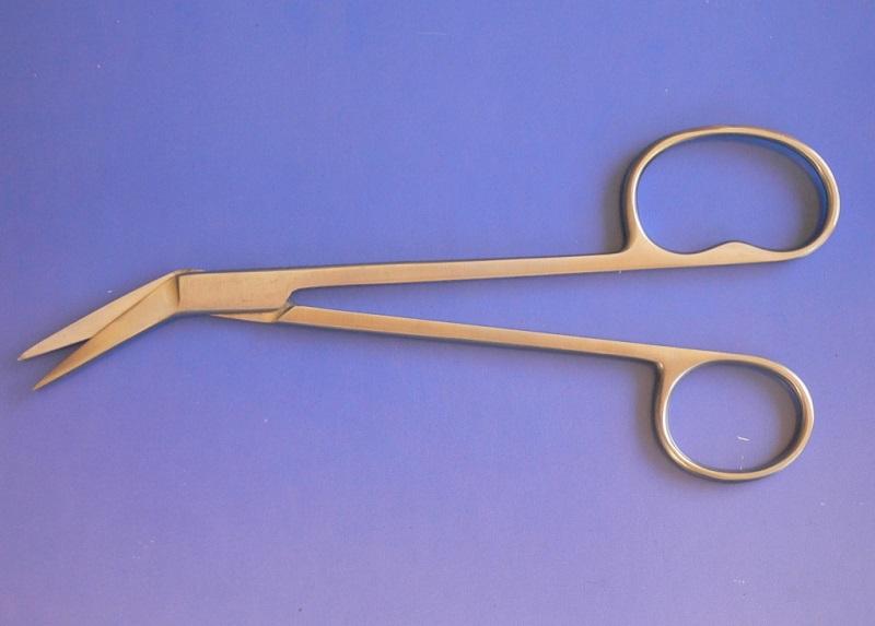 Nůžky na nehty lomené 17 cm