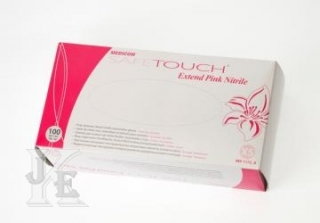 Rukavice SafeTouch Pink Nitrile Gloves